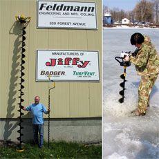 Бензиновые ледобуры Jiffy известны профессионалам подледной…