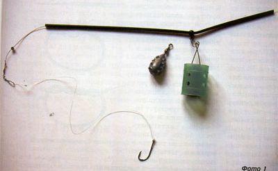 Оснастка с противозакручивателем (Antitangle Boom)