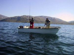 Рыбная ловля в стране фьордов