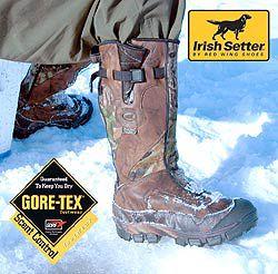 Обувь Irish Setter — выбор рыбака.