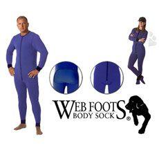 Web Foots Body Sock Style — высокотехнологичное термобелье