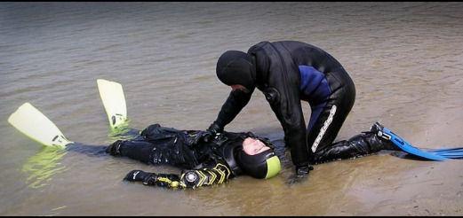Опасности подводной охоты и плаванья