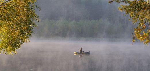 Сентябрь — праздник рыбака. Как и на что ловить в сентябре.