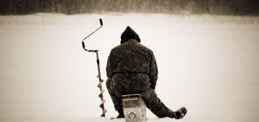 Зимний костюм для рыбалки