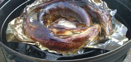 Готовим рыбу в шарабане