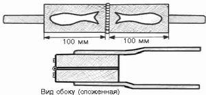 метод плавления поролона в формочке