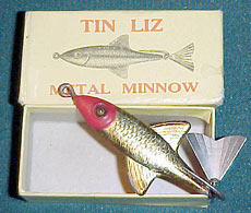 он разработал новую приманку, ставшую впоследствии хитом — Жестяную Лизу (Tin Liz)