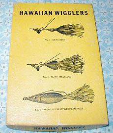 Фред разработал, обкатал и выпустил в продажу такой шедевр, как Hawaiian Wiggler (Гавайский Вигглер)