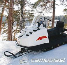 Новая гусеница для снегохода – экспертам на тестирование