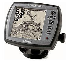 Эхолот Garmin. Модель Fishfinder 140 с FSTN-экраном 12 см