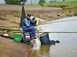 Ловля карпа поплавочной удочкой