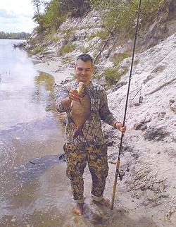 Ловля леща на Десне