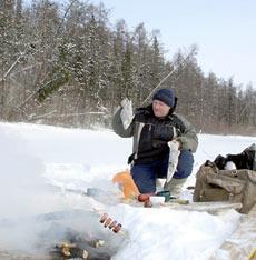 Конкурс «Моя зимняя снасть, купленная на Badger.ru»