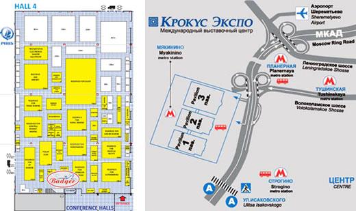 Гребные винты, тахометры и др. аксессуары для лодочных моторов на выставке в Москве