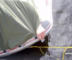 Тент для надувной лодки «Badger»