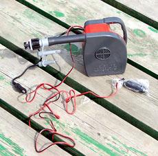 новая модель электрического насоса со встроенным аккумулятором Bravo MB50RB
