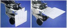 Плита может быть поднята за тот же тросик во время работы мотора на холостых оборотах.