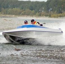 Компактная лодка для мелководья с толщиной днища 1,5 см