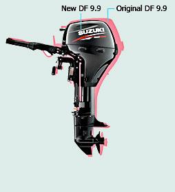 Новые легкие и компактные моторы DF 8 и DF 9.9