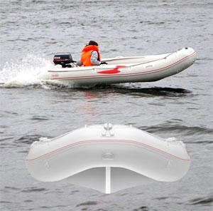 Обзор надувной лодки Fishing Line 270