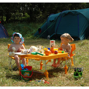 Организация безопасности детей во время семейных выездов на природу