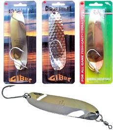 Первые образцы блесен Gibbs мы получили из Канады в 2005 году