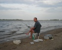 ловля фидером на реке