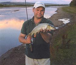 Прикарпатье край необычных рыб