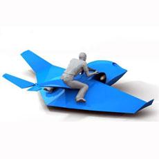 Миниэкраноплан Skimmer - игрушка со скоростью 100 км/ч