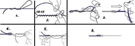 Рыбалка - как правильно вязать узлы