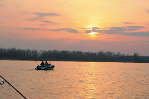 Рыбалка в Астраханском крае.