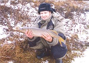 С наступлением холодов, а позднее и морозов, многие рыболовы...