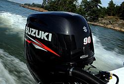 Серия из трех моделей 4х тактных подвесных моторов Suzuki устанавливает...