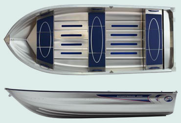 Шведские алюминиевые лодки LINDER.