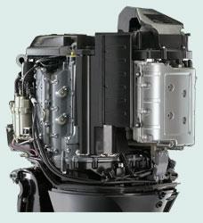 Suzuki DF300 первый в мире 300-сильный 4х тактный подвесной...