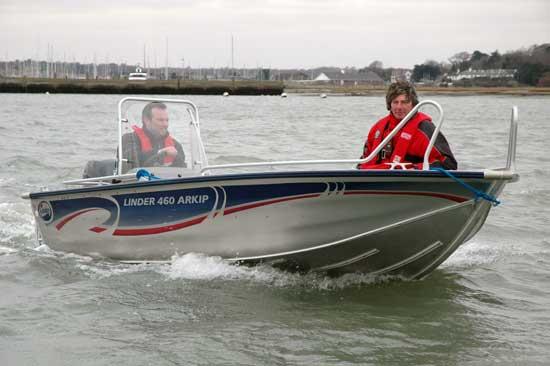Тест лодки Linder Arkip 460