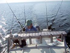 важно знание места и правильная техника рыбалки, а вовсе не «навороченная» лодка или дорогая удочка