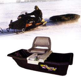 Сани и прицепы для снегоходов. Оптимальный выбор для передвижения по льду!