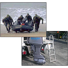 Морская пехота выбирает безопасный и мощный подвесной водометный привод