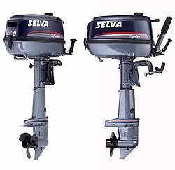Новые 4-х тактные моторы от Selva