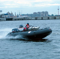 Selva Madeira стала лидером в гонках на надувных лодках