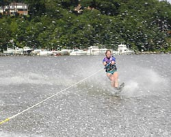 Лучше лыж может быть - только лыжа!