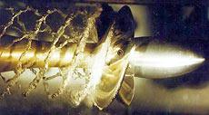Безошибочный признак вентиляции и кавитации — резкое возрастание скорости вращения гребного винта