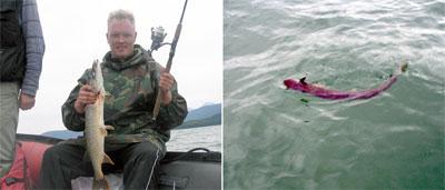Чивыркуйский залив. Начало августа - не самое удачное время для рыбалки, но