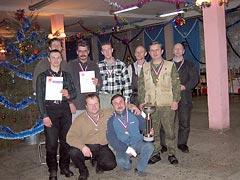 Отчет о проведении открытого чемпионата Санкт-Петербурга на Кубок Баджера – 2003