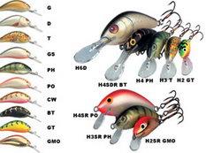 Цветовой ряд Salmo Hornet