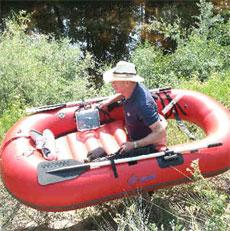 Ультракомпактные надувные лодки Waterstrider