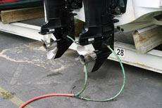 промывка лодочного мотора