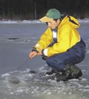 Зимняя ловля подлещика