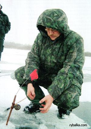 Зимняя рыбалка. Жерлицы на торфяниках.